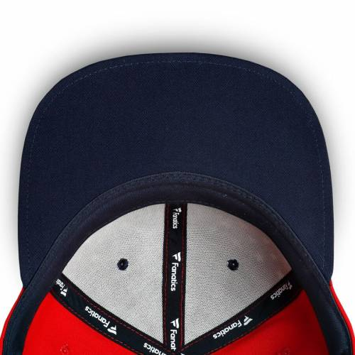 FANATICS BRANDED アトランタ スナップバック バッグ キャップ 帽子 メンズキャップ メンズ 【 Atlanta United Fc Americana Emblem Adjustable Snapback Hat - Navy/red 】 Navy/red