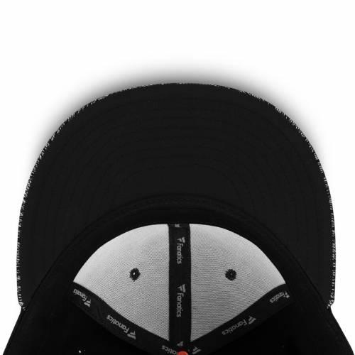FANATICS BRANDED フィラデルフィア 黒 ブラック バッグ キャップ 帽子 メンズキャップ メンズ 【 Philadelphia Flyers Versalux Fitted Hat - Black 】 Black