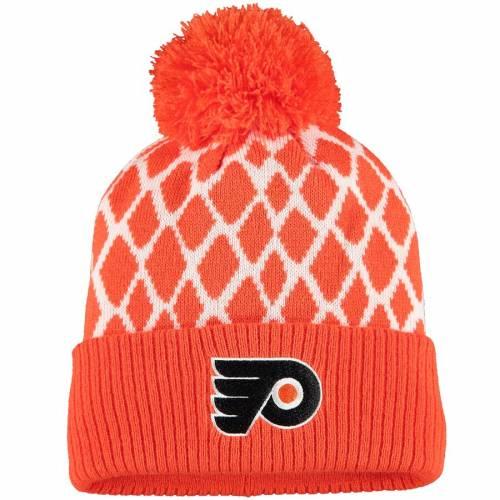 アディダス ADIDAS フィラデルフィア ニット 橙 オレンジ バッグ キャップ 帽子 メンズキャップ メンズ 【 Philadelphia Flyers Culture Netminder Cuffed Knit Hat - Orange 】 Orange