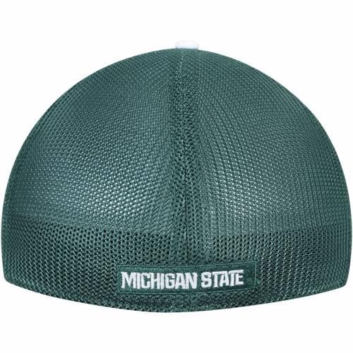 ナイキ NIKE ミシガン スケートボード スウッシュ スウォッシュ パフォーマンス 緑 グリーン バッグ キャップ 帽子 メンズキャップ メンズ 【 Michigan State Spartans Swoosh Performance Meshback Flex H