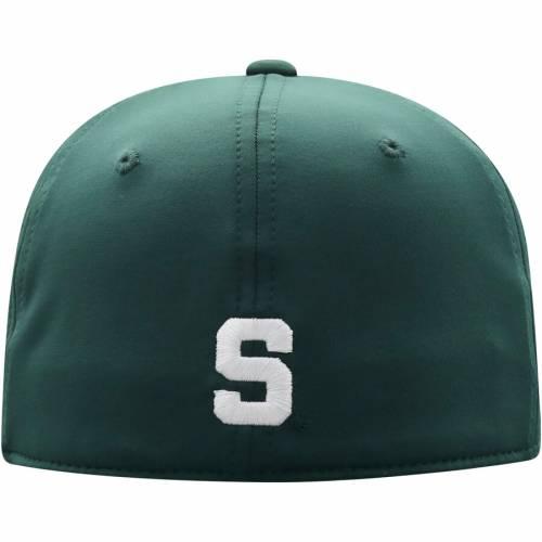TOP OF THE WORLD ミシガン スケートボード 緑 グリーン バッグ キャップ 帽子 メンズキャップ メンズ 【 Michigan State Spartans Break Flex Hat - Green 】 Green