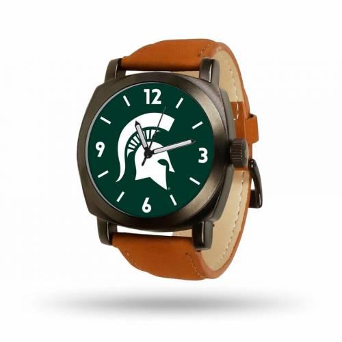 SPARO ミシガン スケートボード 茶 ブラウン ストラップ ウォッチ 時計 【 STATE BROWN WATCH SPARO MICHIGAN SPARTANS STRAP COLOR 】 腕時計 メンズ腕時計