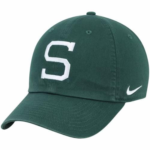 ナイキ NIKE ミシガン スケートボード パフォーマンス 緑 グリーン バッグ キャップ 帽子 メンズキャップ メンズ 【 Michigan State Spartans Heritage 86 Performance Adjustable Hat - Green 】 Green