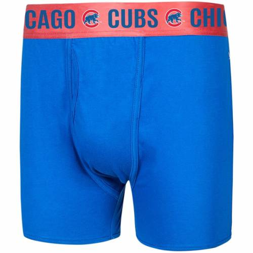 CONCEPTS SPORT シカゴ カブス 赤 レッド 【 RED CONCEPTS SPORT CHICAGO CUBS BOXER BRIEFS ROYAL 】 インナー 下着 ナイトウエア メンズ