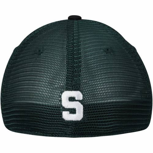 TOP OF THE WORLD ミシガン スケートボード 緑 グリーン バッグ キャップ 帽子 メンズキャップ メンズ 【 Michigan State Spartans Chatter Meshback Flex Hat - Green 】 Green
