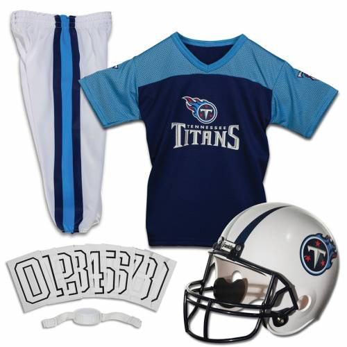 FRANKLIN SPORTS テネシー タイタンズ 子供用 デラックス キッズ ベビー マタニティ ジュニア 【 Tennessee Titans Youth Deluxe Uniform Set 】 Color
