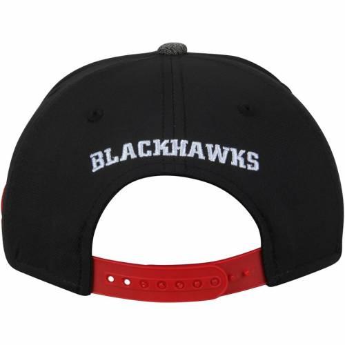 アディダス ADIDAS シカゴ パフォーマンス 灰色 グレー グレイ バッグ キャップ 帽子 メンズキャップ メンズ 【 Chicago Blackhawks Performance Adjustable Hat - Black/heathered Gray 】 Black/heathered Gray