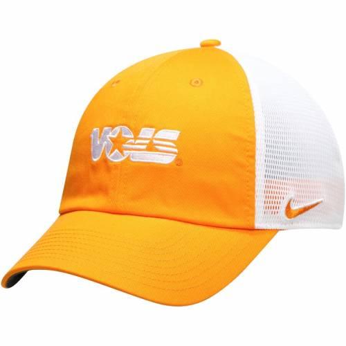 ナイキ NIKE テネシー チーム トラッカー 橙 オレンジ バッグ キャップ 帽子 メンズキャップ メンズ 【 Tennessee Volunteers Heritage 86 Team Trucker Meshback Adjustable Hat - Tennessee Orange 】 Tenn Orange