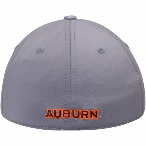 TOP OF THE WORLD タイガース 灰色 グレー グレイ バッグ キャップ 帽子 メンズキャップ メンズ 【 Auburn Tigers Hyper Flex Hat - Gray 】 Gray