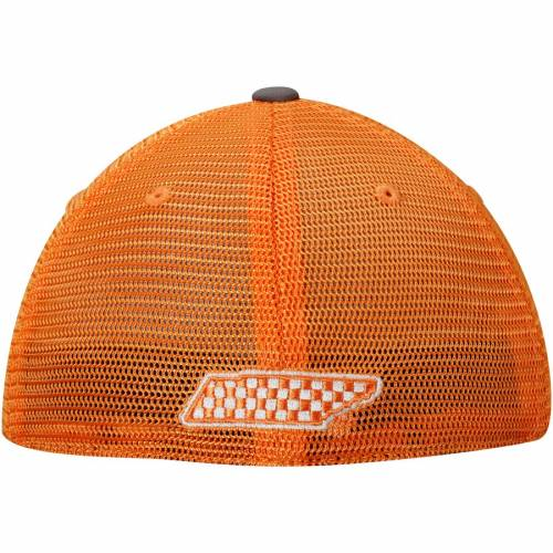 TOP OF THE WORLD テネシー 橙 オレンジ バッグ キャップ 帽子 メンズキャップ メンズ 【 Tennessee Volunteers Chatter Meshback Flex Hat - Tennessee Orange 】 Tennessee Orange