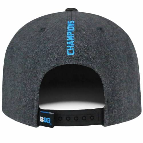 TOP OF THE WORLD オハイオ スケートボード 灰色 グレー グレイ バッグ キャップ 帽子 メンズキャップ メンズ 【 Ohio State Buckeyes 2017 Big Ten Football Conference Champions Locker Room Adjustable Hat - Gray 】 Gr