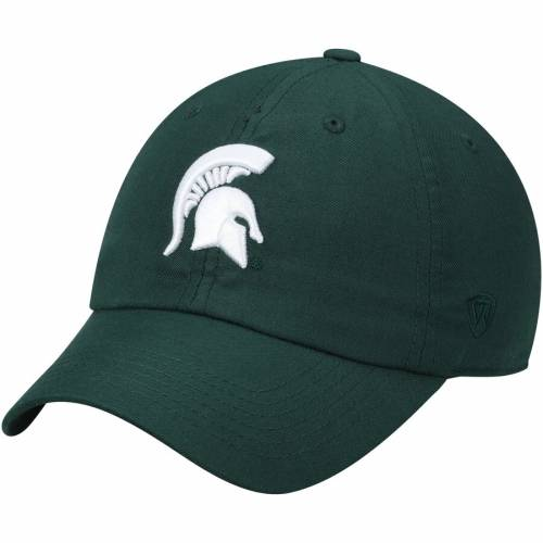 TOP OF THE WORLD ミシガン スケートボード ロゴ 灰色 グレー グレイ バッグ キャップ 帽子 メンズキャップ メンズ 【 Michigan State Spartans Primary Logo Staple Adjustable Hat - Gray 】 Green