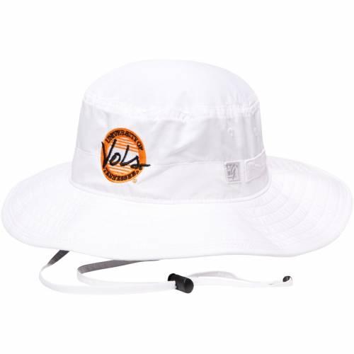 THE GAME テネシー クラシック 黒 ブラック バッグ キャップ 帽子 メンズキャップ メンズ 【 Tennessee Volunteers Classic Circle Ultralight Adjustable Boonie Bucket Hat - Black 】 White