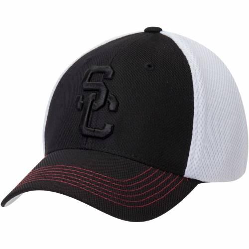 289C APPAREL 黒 ブラック バッグ キャップ 帽子 メンズキャップ メンズ 【 Usc Trojans Chester Structured Adjustable Hat - Black 】 Black
