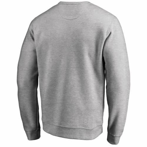 FANATICS BRANDED ニックス 灰色 グレー グレイ メンズファッション トップス スウェット トレーナー メンズ 【 New York Knicks Wordmark Pullover Sweatshirt - Heathered Gray 】 Heathered Gray