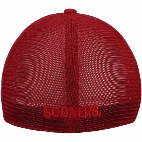 TOP OF THE WORLD バッグ キャップ 帽子 メンズキャップ メンズ 【 Oklahoma Sooners Dayblaster Flex Hat - Crimson 】 Crimson