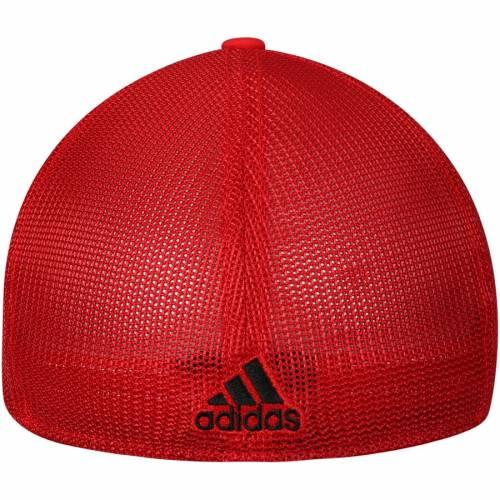 アディダス ADIDAS デトロイト 赤 レッド バッグ キャップ 帽子 メンズキャップ メンズ 【 Detroit Red Wings Sublimated Visor Meshback Flex Hat - Black/red 】 Black/red