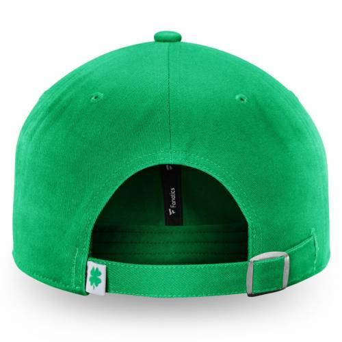 FANATICS BRANDED 緑 グリーン St. バッグ キャップ 帽子 メンズキャップ メンズ 【 Anaheim Ducks St. Patricks Day Fundamental Adjustable Hat - Green 】 Green