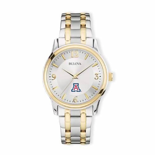 ブローバ BULOVA アリゾナ クラシック ウォッチ 時計 銀色 シルバー 金色 ゴールド 【 WATCH SILVER BULOVA ARIZONA WILDCATS CLASSIC TWOTONE ROUND GOLD 】 腕時計 メンズ腕時計