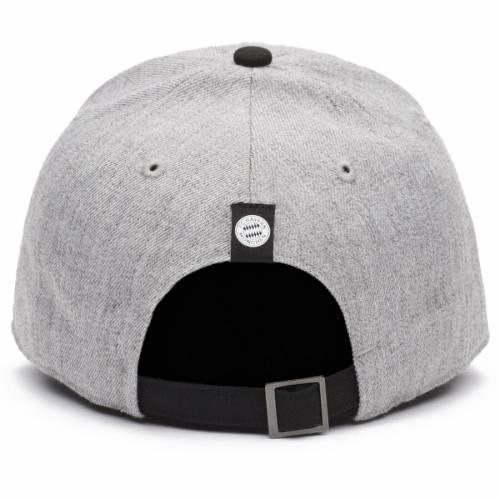 FI COLLECTION ゲーム バッグ キャップ 帽子 メンズキャップ メンズ 【 Bayern Munich Post Game Adjustable Hat - Gray/black 】 Gray/black