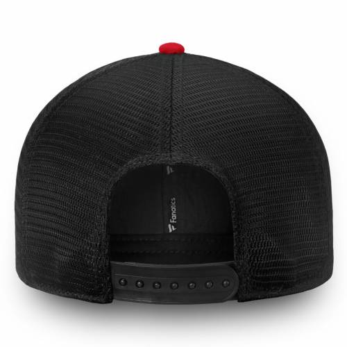 FANATICS BRANDED チーム トラッカー スナップバック バッグ 黒 ブラック キャップ 帽子 メンズキャップ メンズ 【 Ottawa Senators Iconic Team Pop Trucker Adjustable Snapback Hat - Black 】 Black