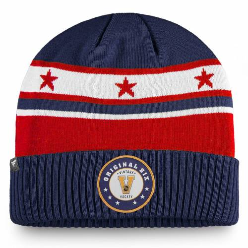 FANATICS BRANDED レンジャーズ ニット 青 ブルー バッグ キャップ 帽子 メンズキャップ メンズ 【 New York Rangers Original Six Cuffed Knit Hat - Blue 】 Blue