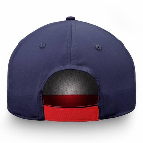 FANATICS BRANDED ワシントン アルファ バッグ キャップ 帽子 メンズキャップ メンズ 【 Washington Capitals Iconic Alpha Adjustable Hat - Navy/red 】 Navy/red