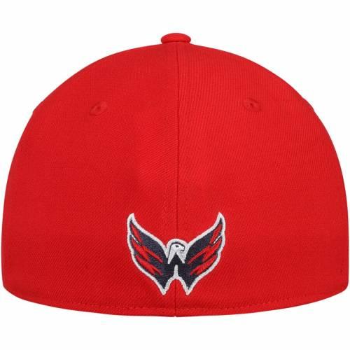 アディダス ADIDAS ワシントン ボックス 赤 レッド バッグ キャップ 帽子 メンズキャップ メンズ 【 Washington Capitals Culture Box Flex Hat - Red 】 Red
