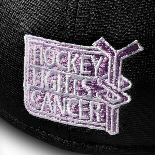 FANATICS BRANDED スピード バッグ キャップ 帽子 メンズキャップ メンズ 【 Edmonton Oilers 2018 Hockey Fights Cancer Speed Flex Hat - Heathered Black/black 】 Heathered Black/black