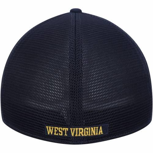 ナイキ NIKE バージニア パフォーマンス スウッシュ スウォッシュ 紺 ネイビー バッグ キャップ 帽子 メンズキャップ メンズ 【 West Virginia Mountaineers Performance Meshback Swoosh Flex Hat - Navy 】 Na