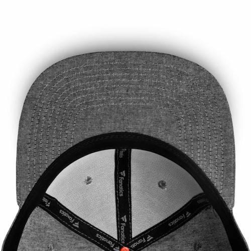 FANATICS BRANDED 赤 レッド ブルズ スナップバック バッグ 黒 ブラック キャップ 帽子 メンズキャップ メンズ 【 New York Red Bulls Chambray Emblem Adjustable Snapback Hat - Black 】 Black