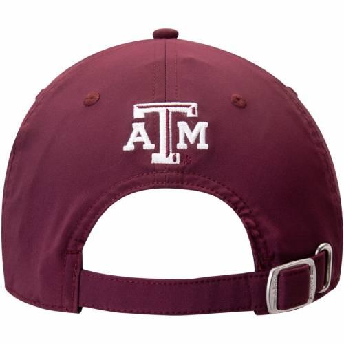 アディダス ADIDAS テキサス バッグ キャップ 帽子 メンズキャップ メンズ 【 Texas Aandm Aggies Slant Tail Adjustable Hat - Maroon 】 Maroon