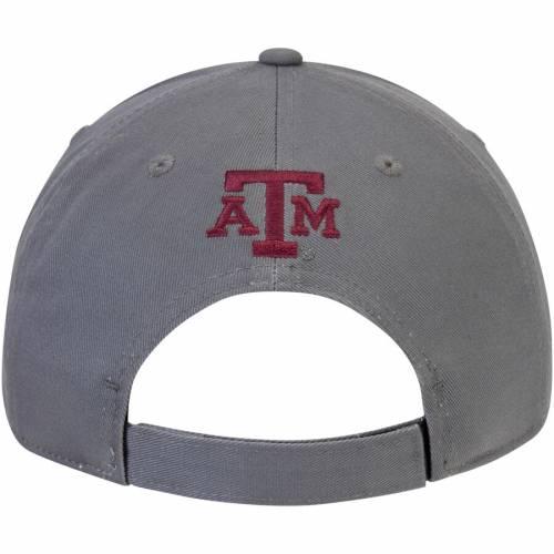 アディダス ADIDAS テキサス 灰色 グレー グレイ バッグ キャップ 帽子 メンズキャップ メンズ 【 Texas Aandm Aggies Hyper Initials Adjustable Hat - Gray 】 Gray
