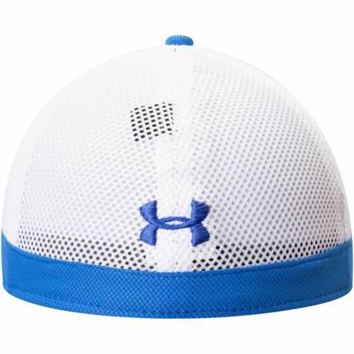 アンダーアーマー UNDER ARMOUR サイドライン パフォーマンス 青 ブルー バッグ キャップ 帽子 メンズキャップ メンズ 【 Ucla Bruins Sideline Blitzing Accent Performance Flex Hat - Blue 】 Blue