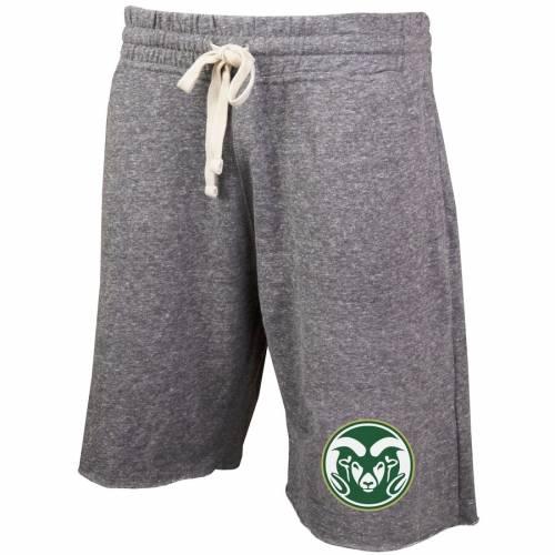 CONCEPTS SPORT コロラド スケートボード ラムズ ショーツ ハーフパンツ 灰色 グレー グレイ メンズファッション ズボン パンツ メンズ 【 Colorado State Rams Mainstream Terry Shorts - Gray 】 Gray