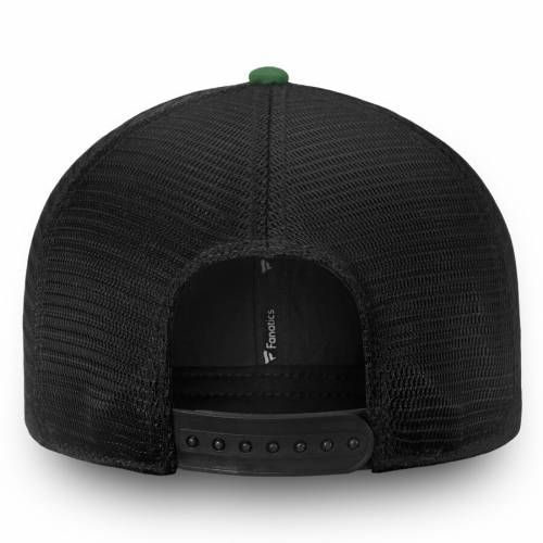 FANATICS BRANDED ミネソタ ワイルド チーム トラッカー スナップバック バッグ 黒 ブラック キャップ 帽子 メンズキャップ メンズ 【 Minnesota Wild Iconic Team Pop Trucker Adjustable Snapback Hat - Black 】