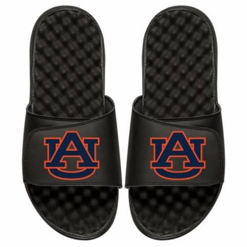 ISLIDE タイガース 子供用 ロゴ サンダル キッズ ベビー マタニティ ジュニア 【 Auburn Tigers Youth Primary Logo Slide Sandals 】 Black