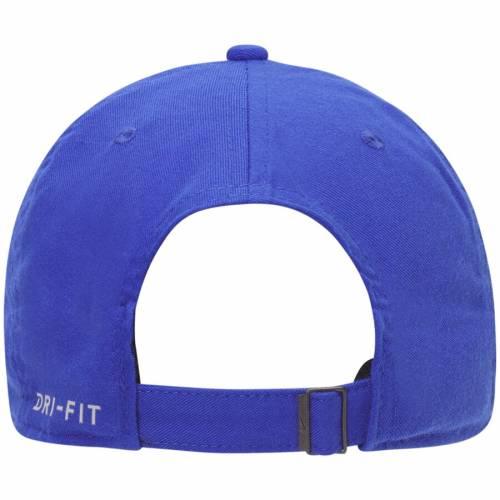 ナイキ NIKE ブリガムヤング オーセンティック パフォーマンス バッグ キャップ 帽子 メンズキャップ メンズ 【 Byu Cougars Vault Heritage 86 Authentic Performance Adjustable Hat - Royal 】 Royal