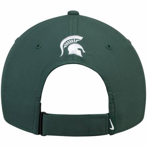 ナイキ NIKE ミシガン スケートボード レガシー 緑 グリーン バッグ キャップ 帽子 メンズキャップ メンズ 【 Michigan State Spartans Rivalry Legacy 91 Adjustable Hat - Green 】 Green