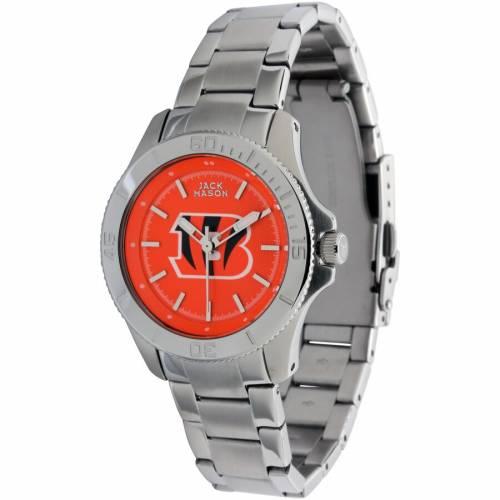 JACK MASON BRAND シンシナティ ベンガルズ ブレスレット ウォッチ 時計 【 WATCH JACK MASON BRAND CINCINNATI BENGALS COLOR SPORT BRACELET 】 腕時計 メンズ腕時計