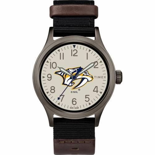 TIMEX タイメックス ウォッチ 時計 【 WATCH TIMEX NASHVILLE PREDATORS CLUTCH COLOR 】 腕時計 メンズ腕時計