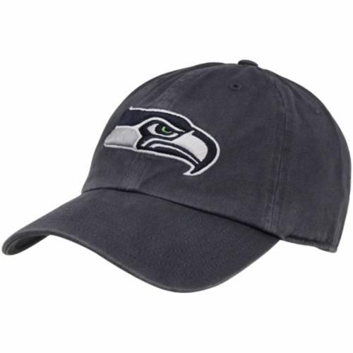 '47 シアトル シーホークス カレッジ 紺 ネイビー バッグ キャップ 帽子 メンズキャップ メンズ 【 Seattle Seahawks Brand Cleanup Adjustable Hat - College Navy 】 College Navy