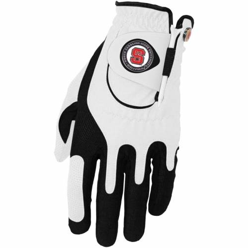 ZERO FRICTION BY TEAM GOLF スケートボード ゴルフ グローブ グラブ 手袋 白 ホワイト スポーツ アウトドア メンズ 【 Nc State Wolfpack Left Hand Golf Glove And Ball Marker Set - White 】 White
