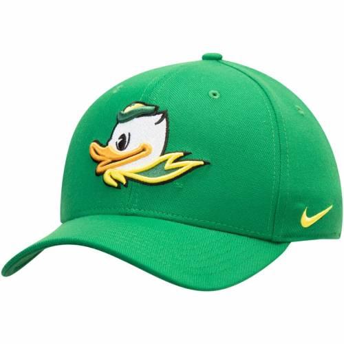ナイキ NIKE オレゴン クラシック ロゴ スウッシュ スウォッシュ パフォーマンス 緑 グリーン バッグ キャップ 帽子 メンズキャップ メンズ 【 Oregon Ducks Classic Logo 99 Swoosh Performance Flex Hat