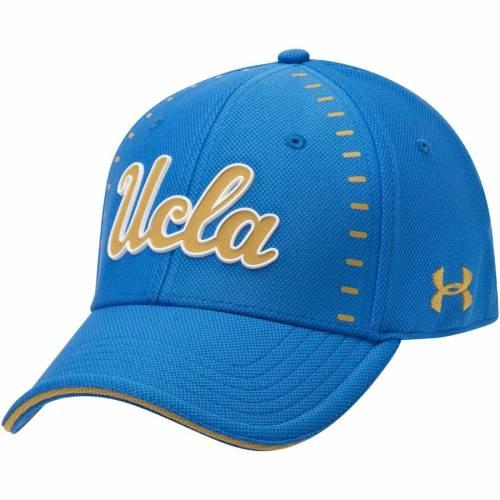 アンダーアーマー UNDER ARMOUR サイドライン 青 ブルー バッグ キャップ 帽子 メンズキャップ メンズ 【 Ucla Bruins Sideline Blitzing Accent Flex Hat - Light Blue 】 Light Blue