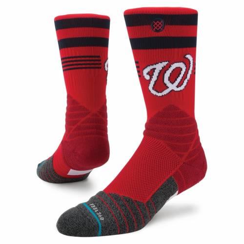 スタンス STANCE ワシントン ナショナルズ ダイヤモンド プロ ソックス 靴下 インナー 下着 ナイトウエア メンズ 下 レッグ 【 Washington Nationals Diamond Pro Crew Socks 】 Color