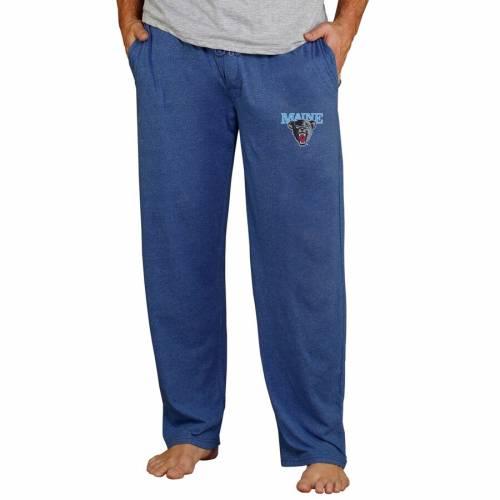 CONCEPTS SPORT 黒 ブラック ベアーズ ニット 紺 ネイビー インナー 下着 ナイトウエア メンズ ナイト ルーム パジャマ 【 Maine Black Bears Quest Knit Pants - Navy 】 Navy