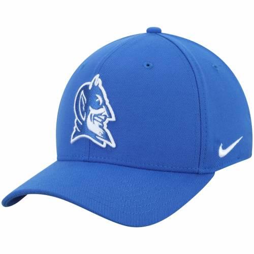 ナイキ NIKE デューク 青 ブルー チーム クラシック ロゴ スウッシュ スウォッシュ パフォーマンス バッグ キャップ 帽子 メンズキャップ メンズ 【 Duke Blue Devils Team Classic Logo 99 Swoosh Perfo