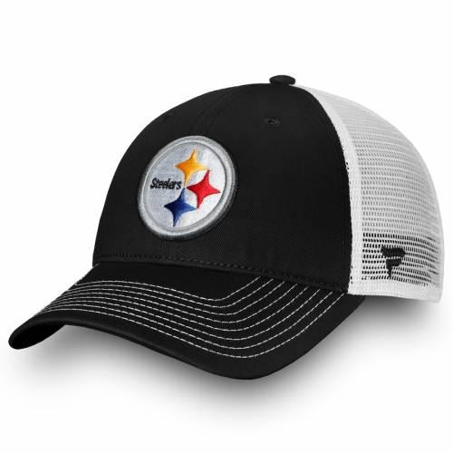 NFL PRO LINE BY FANATICS BRANDED ピッツバーグ スティーラーズ コア トラッカー スナップバック バッグ キャップ 帽子 メンズキャップ メンズ 【 Pittsburgh Steelers Core Trucker Iii Adjustable Snapback Hat -