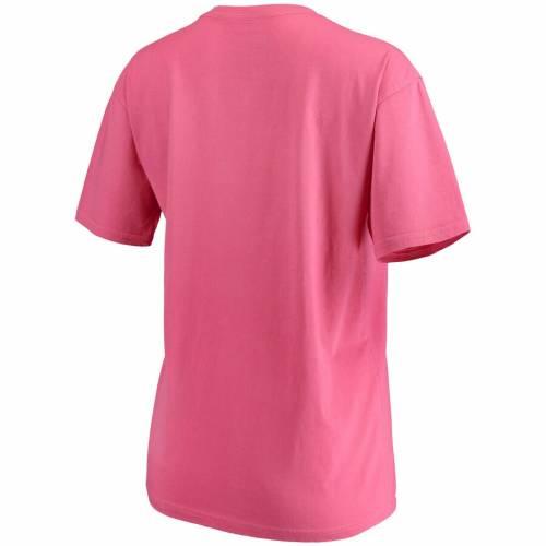 PRESSBOX アラバマ レディース ブイネック Tシャツ ピンク WOMEN'S 【 PINK PRESSBOX ALABAMA CRIMSON TIDE CROCHET VNECK TSHIRT 】 レディースファッション トップス Tシャツ カットソー